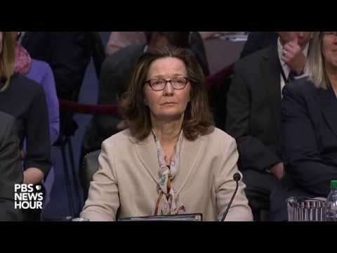 WATCH: Gina Haspel, Trump's pick for CIA director, to testify during confirmation hearing