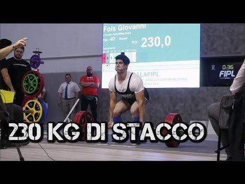 577 KG nuovo record - Campionato italiano FIPL