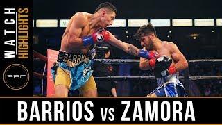 Barrios vs Zamora Highlights: February 9, 2019 - PBC on Showtime