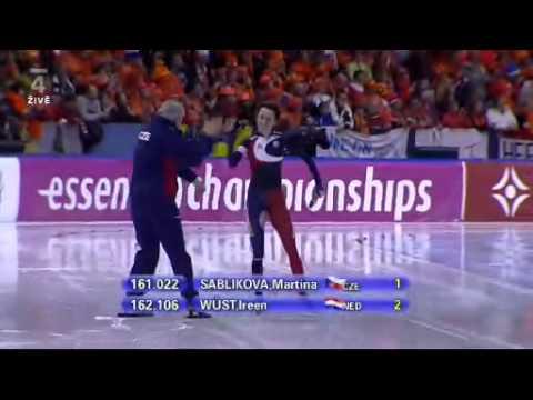World Allround  Championships 5000m Women Heerenveen 2010 Sablikova - Wust