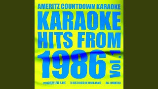 Adios Marlena (In the Style of Michael Stein) (Karaoke Version)