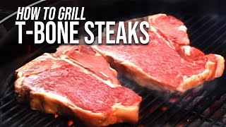 Grilled T-bone Steak Recipe By The Bbq Pit Boys