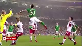 اهداف مباراة ايرلندا والدنمارك 1- 5  / كأس العالم 2018 / Danmark vs Irland 5-1