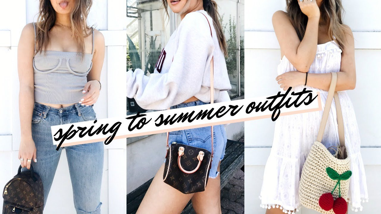 [VIDEO] - ON TREND SPRING to SUMMER OUTFITS | rachspeed 3