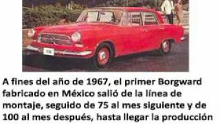 Industria Mexicana Automotriz, La Borguard de FAMA regiomontana