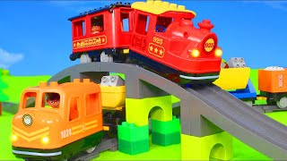 Fire Truck, Trains, Tractor, Police Cars, Excavator, Trucks &amp Construction Toy Vehicles for Kids