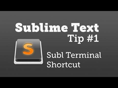 Installing Subl in Terminal (Sublime Text Tip #1)
