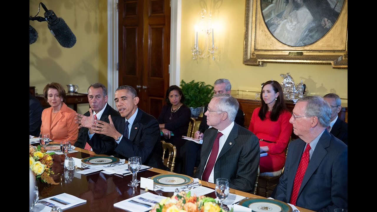 Obama And Cabinet President Obama Meets With His Cabinet Youtube