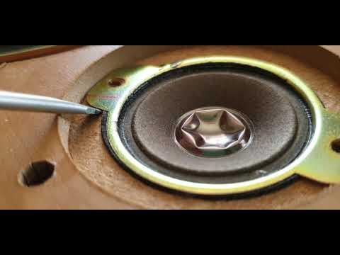 JVC SP-UX j50 60 WATT SPEAKERS REVIEW AND LOOK IN