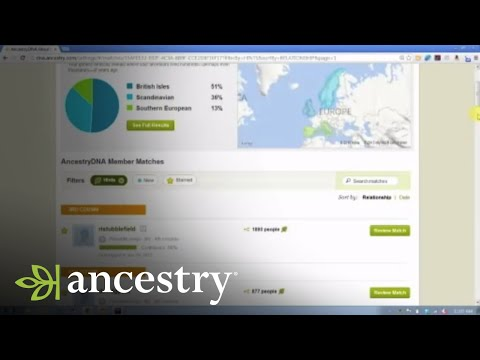 AncestryDNA:  Surname and Location Filters