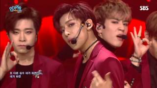 "GOT7 ""니가 하면(If You Do)"" Stage @ SBS Inkigayo 2015.10.18"