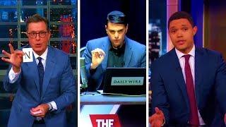 Ben Shapiro Goes OFF on Talk Show Hosts Stephen Colbert and Trevor Noah
