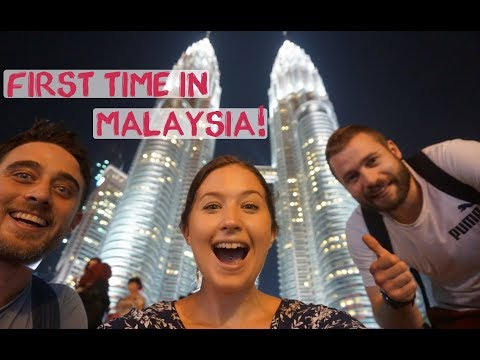 British Farmer's First Time In Malaysia, Kuala Lumpur