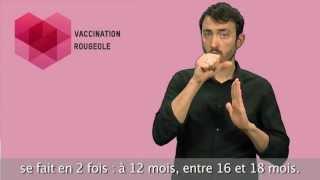 Vaccin Rougeole - Langue des signes