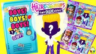 Hairdorables HairDUDEables! Boys + Exclusive Girl BFF Dolls