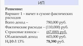 НДФЛ особенности расчета и сложные моменты - Хлебникова Ирина