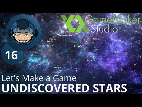 UNDISCOVERED STARS - Let's Make A Game: Ep. #16 - Project Automation - Game Maker Tutorials