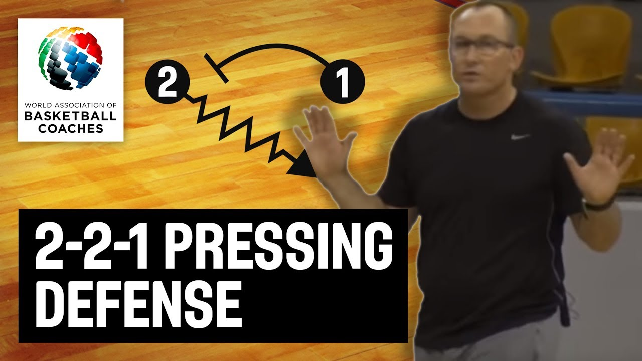 2-2-1 Pressing Defense - Brendan Mann