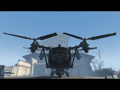 Fallout 4: VTO Redux - Mobile Player Home