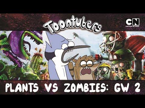 PISA MENOS GIRASSOL NEON!!! PLANTS VS. ZOMBIES: GARDEN WARFARE 2 | Toontubers | Cartoon Network