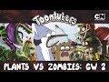 PISA MENOS GIRASSOL NEON PLANTS VS ZOMBIES GARDEN WARFARE 2 Toontubers Cartoon Network mp3
