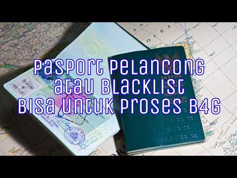 PASPOR PELANCONG / BLACKLIST BISA DI GUNAKAN UNTUK MEBAYAR KOMPAUN