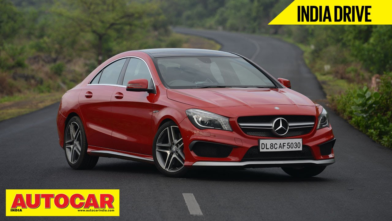 Mercedes Benz CLA 45 AMG | India Drive Video Review | Autocar India    YouTube