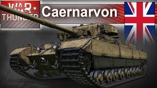 Caernarvon - jak sobie radzi w War Thunder?