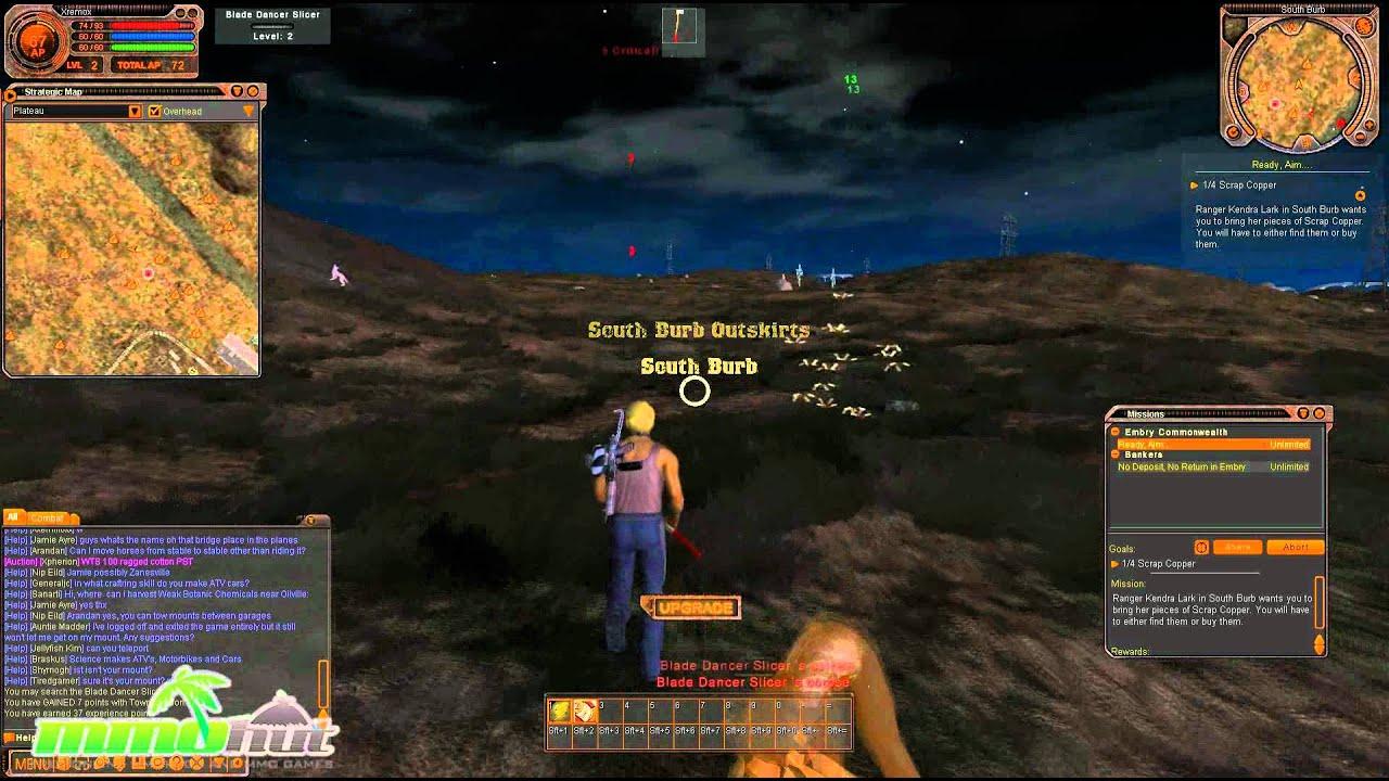 Fallen Earth Gameplay Fallen Earth F2P Gamep...