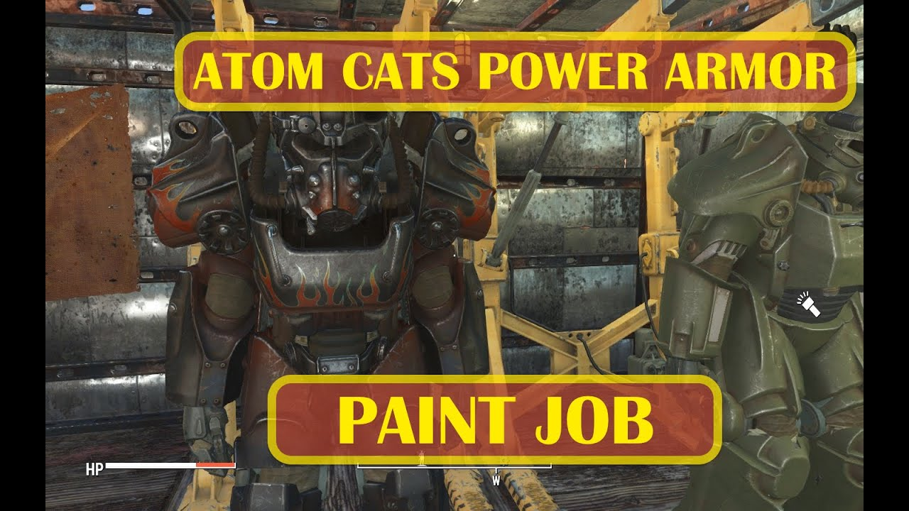 Fallout  Atom Cats Paint Job