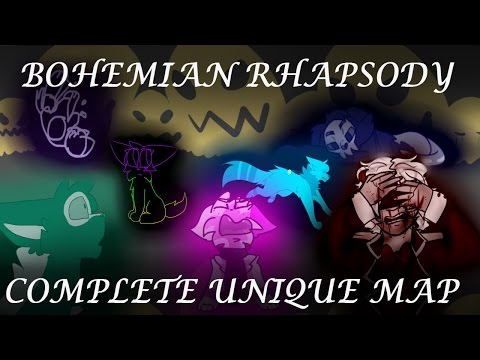 ⚜ BOHEMIAN RHAPSODY ⚜ COMPLETE UNIQUE MAP