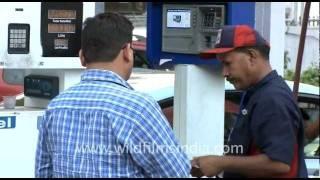 HPCL Petrol Pump dispensing Petrol & Diesel