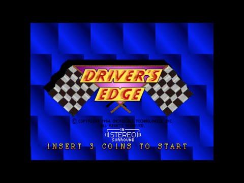 Drivers Edge - Arcade Gameplay - Strata 1994 |