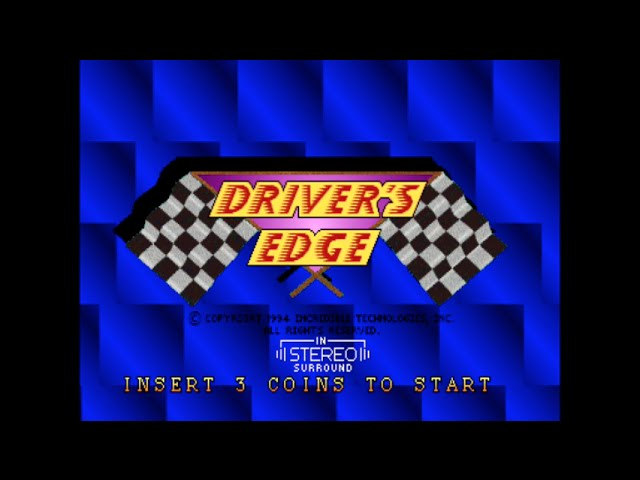 Drivers Edge - Arcade Gameplay - Strata 1994