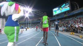Kirani James snatches victory in the Men