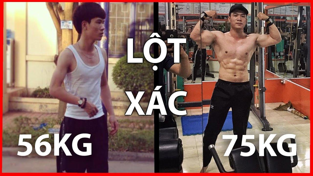 Động lực tập gym cho những bạn nam siêu gầy | Kiến Dương