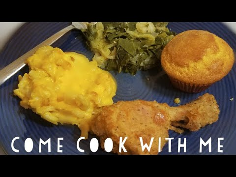 Come Cook With Me: Soul Food Dinner / Sunday Dinner / how to cook Soul Food Fast/ Cooking Dinner