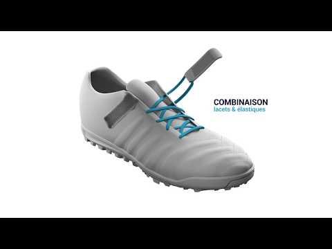 Système Easy Laçage de la chaussure de football CLR 500
