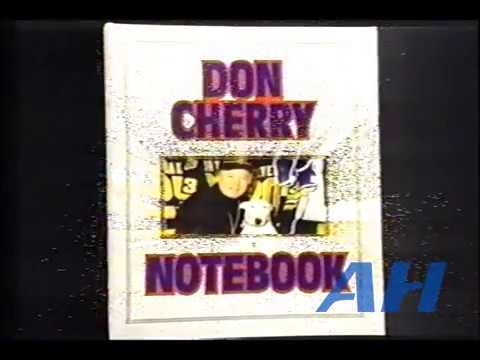 NHL Oct. 20, 1984 Don Cherry's Notebook (Coach's Corner) Toronto Maple Leafs Quebec Nordiques