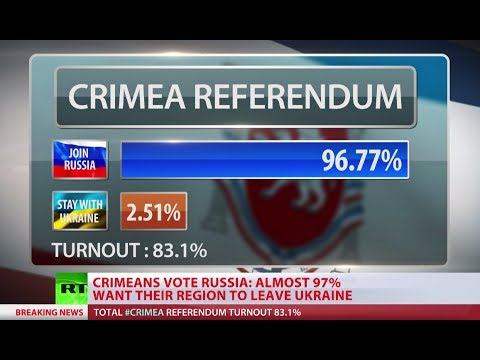 Crimea votes to join Russia: 96.77% say YES