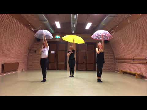 PUUR by Dinne Groothuis: Gene Kelly - Singing in the rain | Broadway Jazz Choreography
