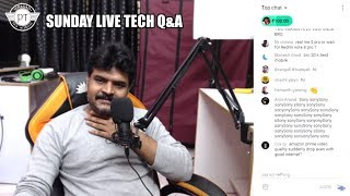 Sunday Live Tech Q&A  11 November 2019 ll Prasad tech in Telugu ll