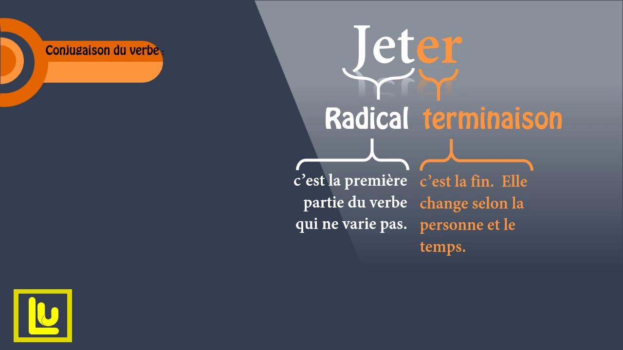 Conjugaison Du Verbe Jeter Au Present De L Indicatif Youtube