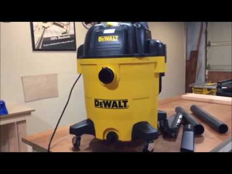 New DeWalt 12 Gallon Shop Vac or Wet Dry Vac DXV12P