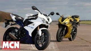 new Triumph Daytona vs Old  Tests  Motorcyclenews.com