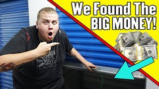 We Found The BIG MONEY In The HUGE Storage Unit! I Bought An Abandoned Storage Unit