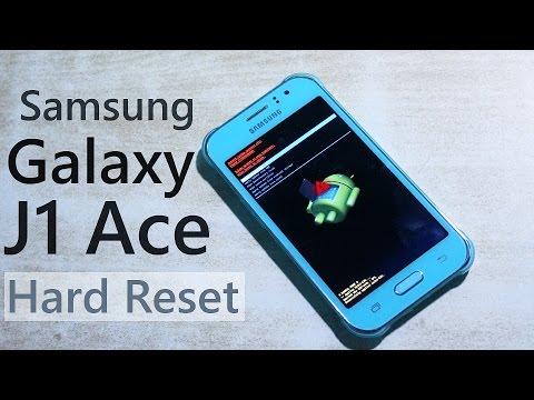 Samsung Galaxy J1 Ace Hard Reset / Bypass Lockscreen