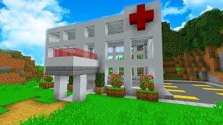 EFSANE HASTANE YAPTIK (Modlu Survival 60) - 😱 - Minecraft