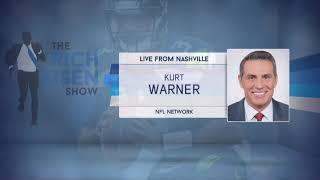 NFL Network's Kurt Warner Talks NFL Draft & More with Rich Eisen | Full Interview | 4/25/19