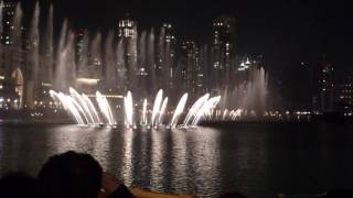 I will always love you / Celine Dion (Dubai Fountain)